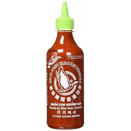 Flying Goose Sriracha with Zitronengras