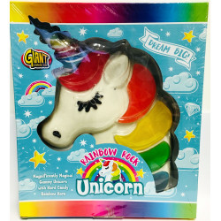 Giant Gummy Candy Unicorn