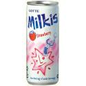 Lotte Milkis Strawberry