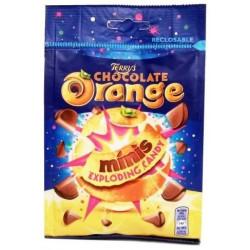 Cadbury Orange Minnis Exploding Candy
