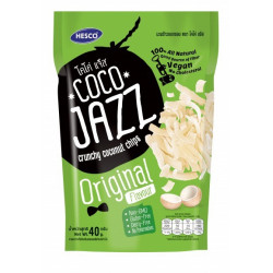 Coco Jazz Crunchy Coconut Chips Original