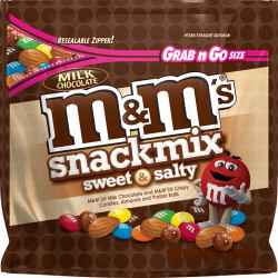 M&M's Sweet & Salty Snack Mix 113g