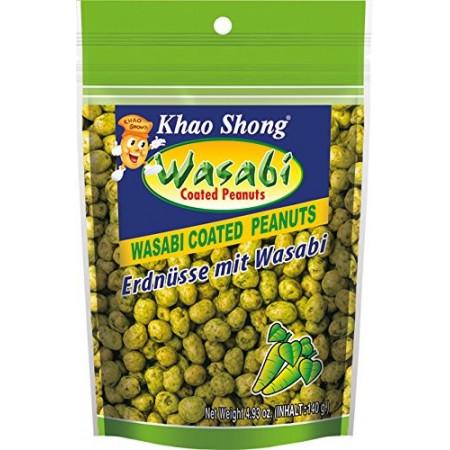 Khao Shong Wasabi Peanuts 140g