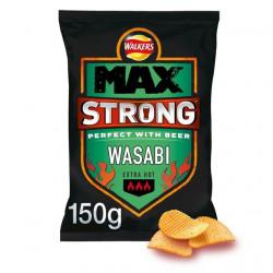 Walkers Max Strong Wasabi 150g