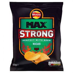Walkers Max Strong Wasabi 50g
