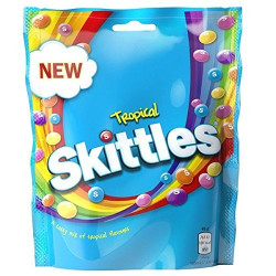 Skittles Tropical Pouch 196g
