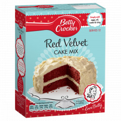 Betty Crocker Red Velvet Cake Mix