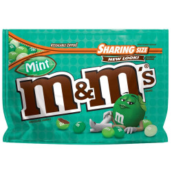 M&M's Mint Sharing Bag Zip