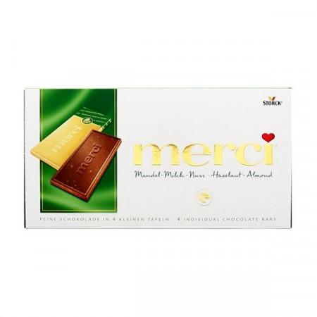 Merci Mandel Milch Nuss Chocolate