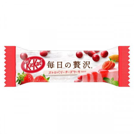 KitKat Luxury Strawberry Cheesecake & Berries Almond