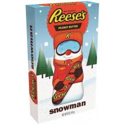 Reese's Peanut Butter Snowman