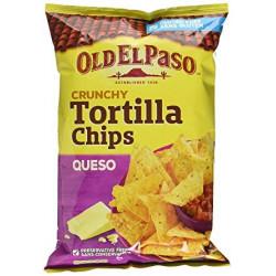 Old El Paso Crunchy Tortilla Chips Queso