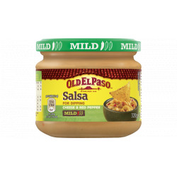 Old El Paso Mild Salsa Dip Cheese & Pepper