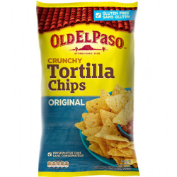 Old El Paso Crunchy Tortilla Chips Salted