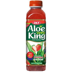 OKF Premium Aloe Vera Drink Strawberry