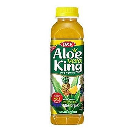 OKF Premium Aloe Vera Drink Pineapple