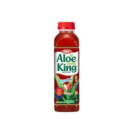 OKF Premium Aloe Vera Strawberry Sugar Free
