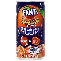 Fanta Jelly Fizz Furufuru Blood Orange Japan