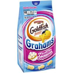 Goldfish Grahams Vanilla Cupcake
