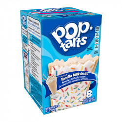 Pop Tarts Frosted Vanilla Milkshake Box