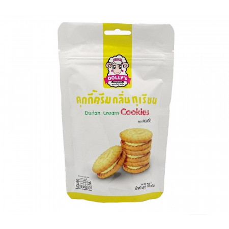 Dolly's Durian Cream Cookies