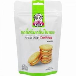 Dolly's Pandan Cream Cookies