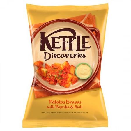 Kettle Patatas Bravas & Aioli