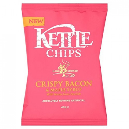 Kettle Crispy Bacon & Maple Syrup 40g