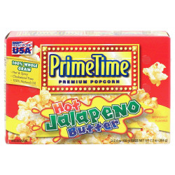 Prime Time Jalapeno Butter Popcorn