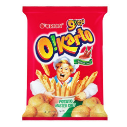 Orion O'Karto Chilli Potato Chips