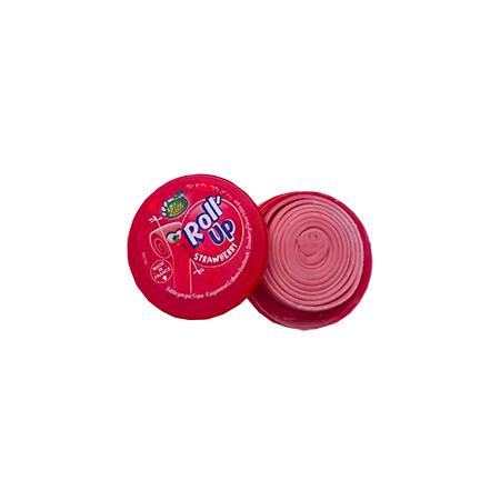 Zaawansowane Lutti Roll Up Strawberry | Guma w Rolce z Francji| Sklep Scrummy XX02