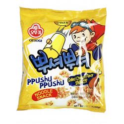 Ottogi Ppushu Ppushu Noodle Snack BBQ