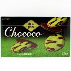 Lotte Chococo Kaoru Matcha Cookies