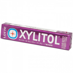 Lotte Xylitol Grape Gum
