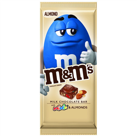 M&M's Milk Chocolate with Mini's and Almonds
