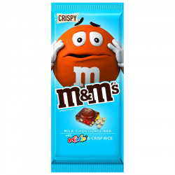 M&M's Milk Chocolate with Mini's and Crisp Rice