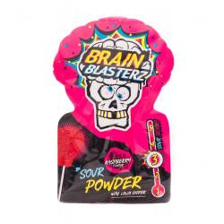 Brain Blasterz Mega Sour Powder & Dipper Raspberry
