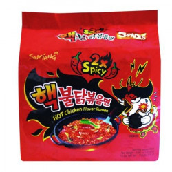 Samyang Spicy Hot Chicken Ramen 5 Pack
