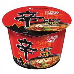 Nongshim Mega Spicy Shin Ramyun Cup