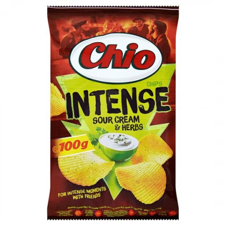 Chio Chips Intense Sour Cream Herbs
