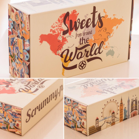 Mystery Box Sweets From Around The World