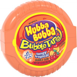 Hubba Bubba Tape Tangy Tropical
