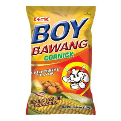 Boy Bawang Fried Corn Chilli Cheese Flavour
