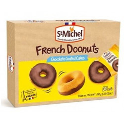 St Michel French Doonuts Chocolate Coated Cakes