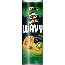 Pringles Wavy Fire Roasted Jalapeno