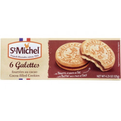 St Michel 6 Galettes Fourrees au Cacao