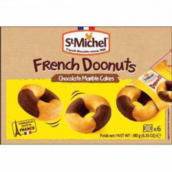 St Michel French Doonuts Chocolate Marble Cakes