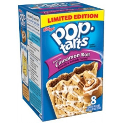 Pop Tarts Frosted Cinnamon Roll Box