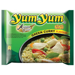 Yum Yum Green Curry Noodles