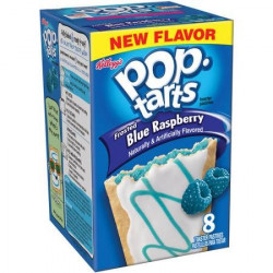 Pop Tarts Frosted Blue Raspberry